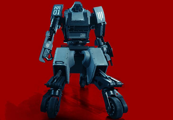 Фото №5 - Робот для боев и другие мужские гаджеты месяца