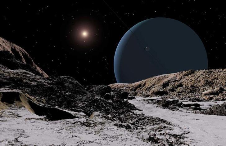 Фото №8 - Как выглядит Солнце с каждой из планет Солнечной системы (галерея)