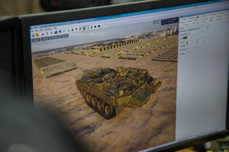 Как создают модели. На примере танка Strv-103b