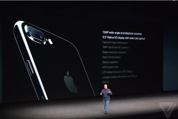Характеристики айфона 7 plus