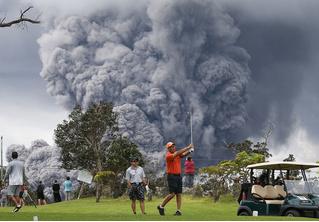 История одной фотографии: извержение вулкана Килауэа