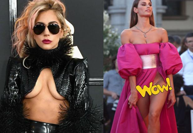 Фото №1 - «Вагино-платье» или «декольте наоборот» — проголосуй за любимую тенденцию женской моды!