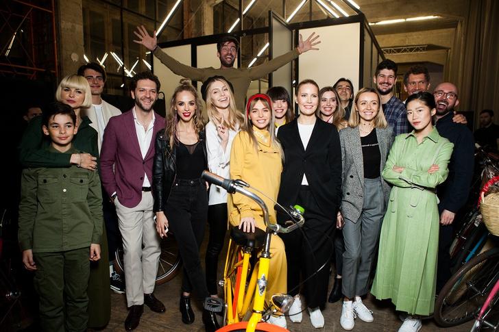 Фото №6 - Подиум для велосипедов: модный показ Electra по случаю 25-летия бренда