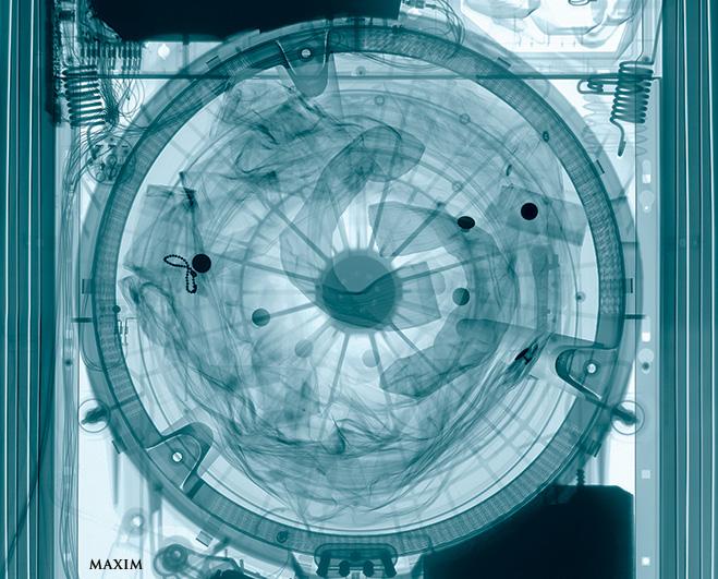 Рентген стиральной машины
