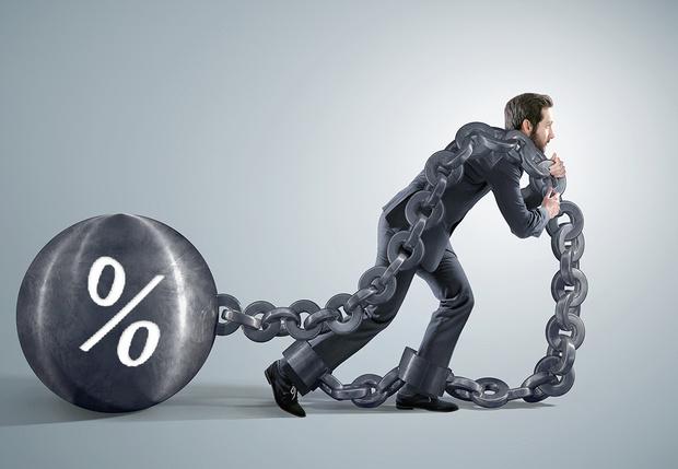 Фото №1 - Ипотечные ставки в России и Европе: самая грустная инфографика