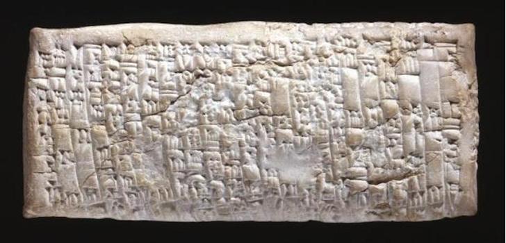 Фото №1 - Археологи нашли жалобу клиента, которой 3800 лет