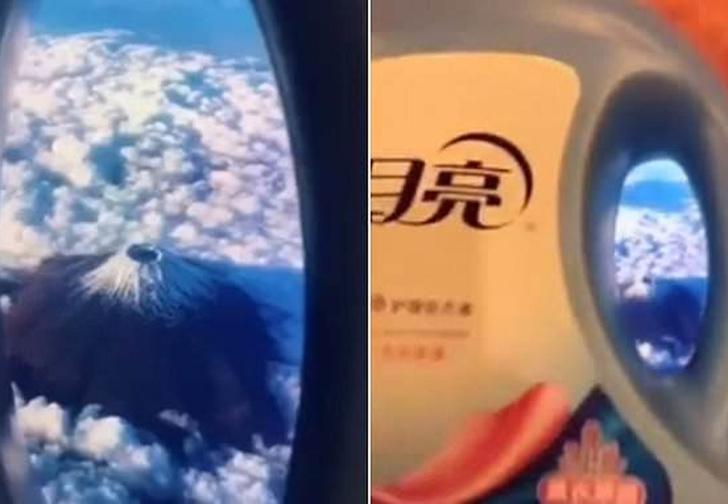 Фото №1 - Новый флешмоб родом из Китая: фейковые селфи из самолета