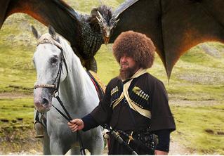 Внезапный мэшап Рамзана Кадырова и «Игры престолов»