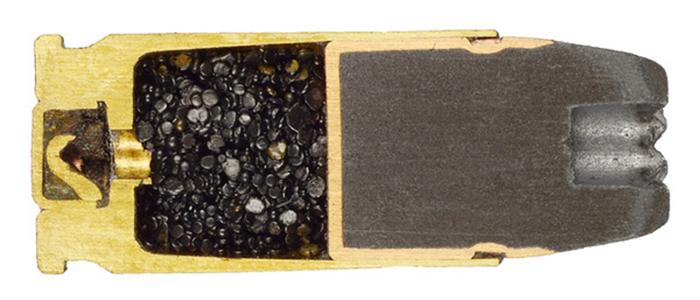 Фото №16 - 17 фотографий разрезанных патронов