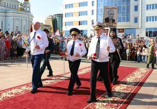 В МВД Мордовии объяснили одинаковые портреты ветерана у главы МВД, прокурора и епископа на «Бессмертном полку»