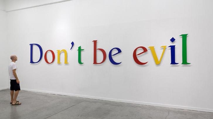 Фото №1 - Google запретила сотрудникам оскорблять друг друга