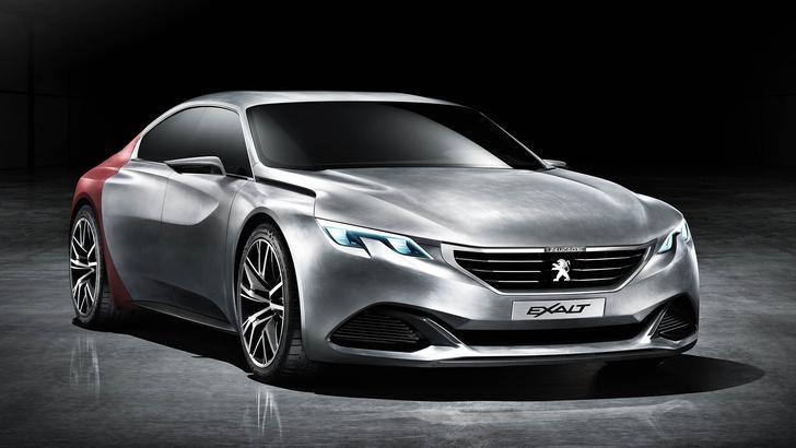 Фото №1 - Концепт-кар Peugeot Exalt — строгое авто для совершеннолетних