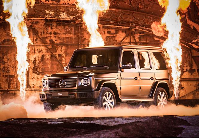 Новый Mercedes G-Class: подробности из первых рук!