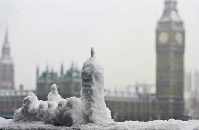 Снежный Биг Бен