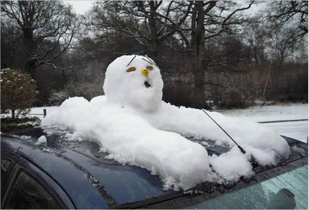 Фото №6 - 6 идей, которые помогут превратить снеговика в произведение искусства