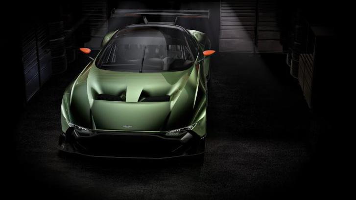 Суперкар Aston Martin Vulcan