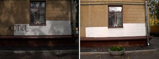 Фото №35 - Красное на черном: Как уличный художник троллил коммунальщиков