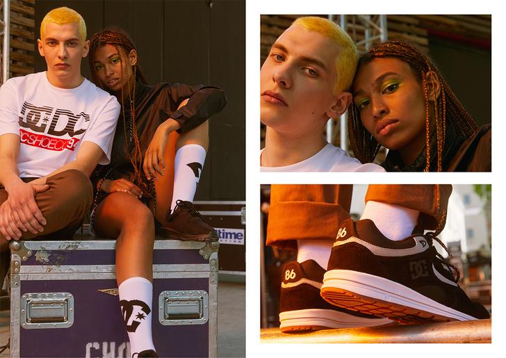 Компания DC Shoes в этом году впервые громко представляет лайфстайл-линейку одежды и обуви, адаптированную дизайнерами для городской среды.