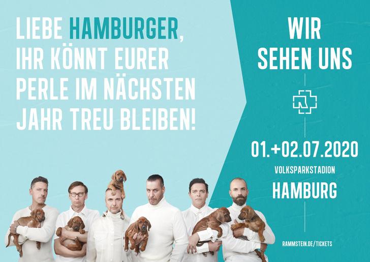 Фото №11 - Rammstein выложили ироничные плакаты к своему концертному туру