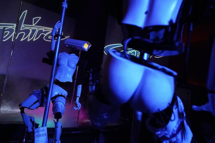 Фото №3 - Роботы-стриптизерши танцуют у шеста! (футуристическое ВИДЕО)