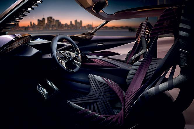 Фото №4 - Лексус «Икс»: Lexus показал концепт нового кроссовера