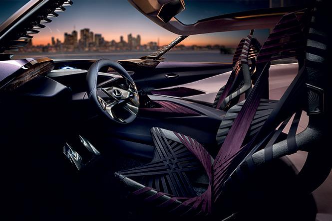 Лексус «Икс»: Lexus показал концепт нового кроссовера