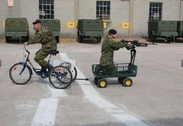 Фото №46 - Непридуманная история велосипедных войск