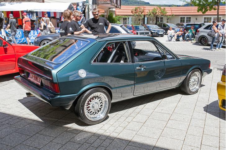 Фото №16 - Самые безумные машины фестиваля GTI Treffen