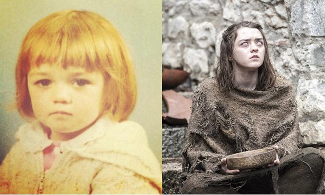 Как выглядели актеры из «Игры престолов» до съемок в сериале
