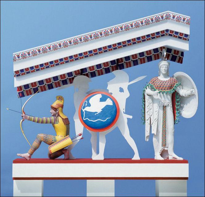 Фото №1 - Полюбуйся, как на самом деле выглядели античные статуи!