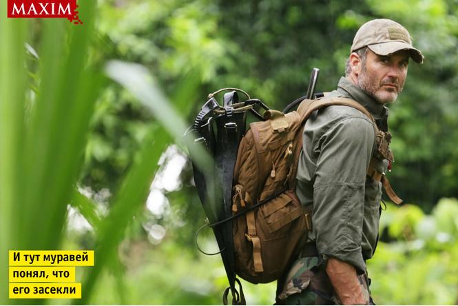 Герой программы «Уйти от погони» Джоэл Ламберт: «Мы потеряли двух продюсеров в джунглях после того, как на них напали африканские пчелы-убийцы»