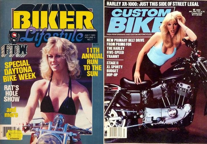 Фото №22 - Сексуальные девушки байкеров из 1980-х!
