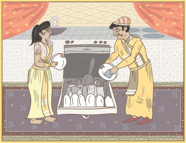 Фото №1 - Камасутра для семейных пар
