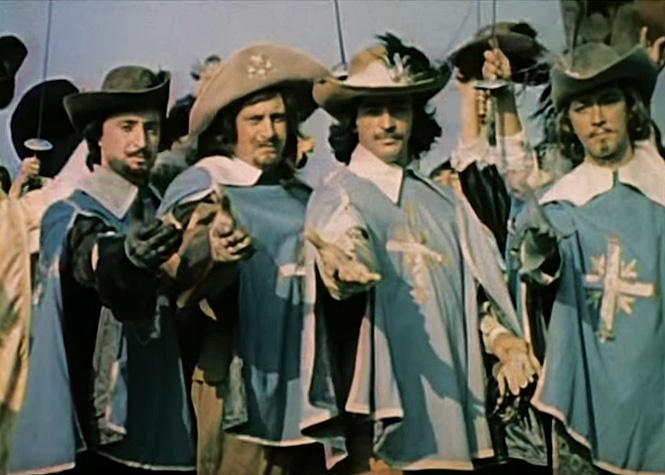 Порно фильмы дортоньян итри мушкетера