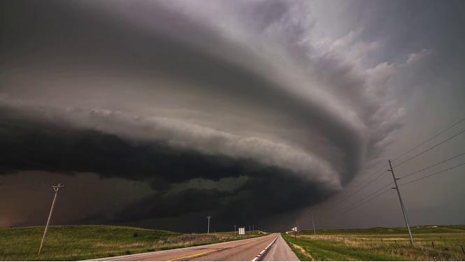 Подборка самых красивых записей штормов (ВИДЕО)