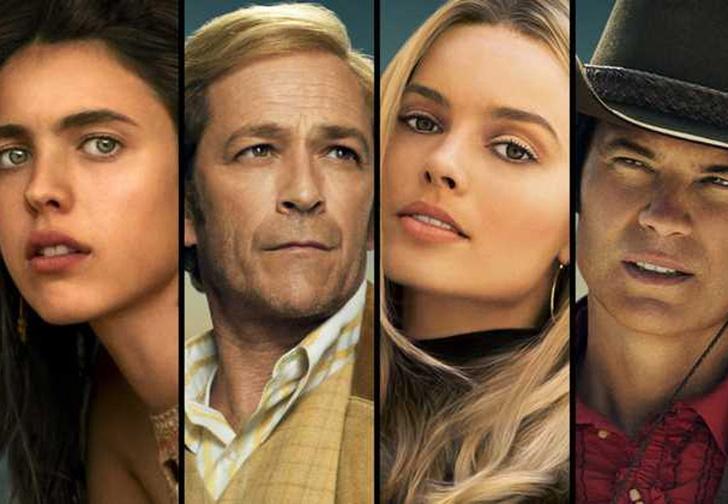 Фото №1 - Тарантино показал 13 постеров с главными героями к своему новому фильму «Однажды в Голливуде»