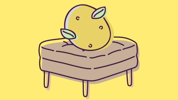 Фото №1 - Приложение для iOS про лежащую на кушетке картошку определит, насколько ты ленивый