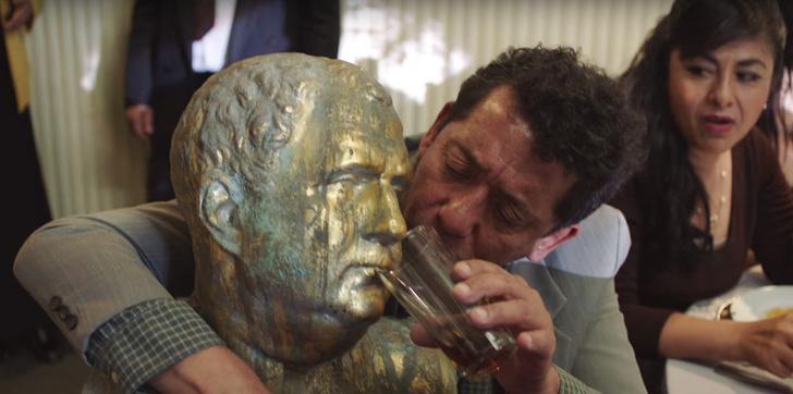 Фото №1 - Вышел первый трейлер мексиканской адаптации фильма «Горько!»