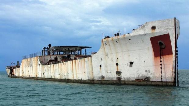 Фото №4 - Железобетонные корабли: ушедшая эпоха в 11 фотографиях