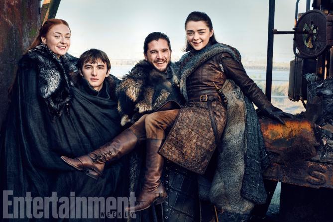 Фото №1 - Старки снова вместе! И другие новости «Игры престолов»