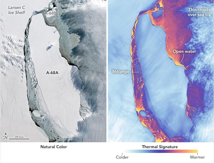 Фото №3 - Айсберг размером с две Москвы откололся от Антарктиды