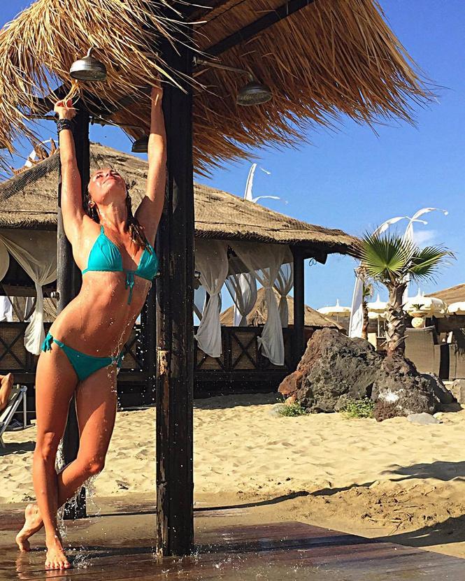 Синхронистка сборной Украины Анна Волошина