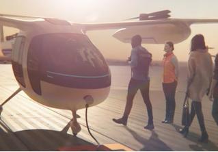 Uber показал концепт летающего такси, а Lyft начал эксплуатацию беспилотных