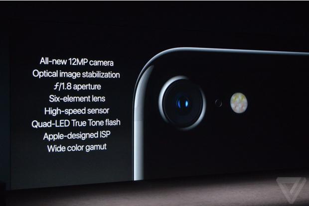 Характеристики камеры iphone 7