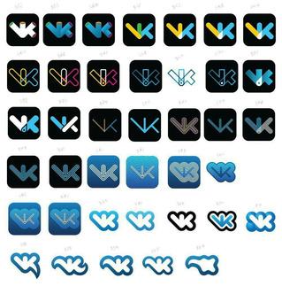 Артемий Лебедев показал не принятые Павлом Дуровым варианты логотипов VK