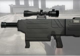 Китайцы разработали первое ручное лазерное ружье