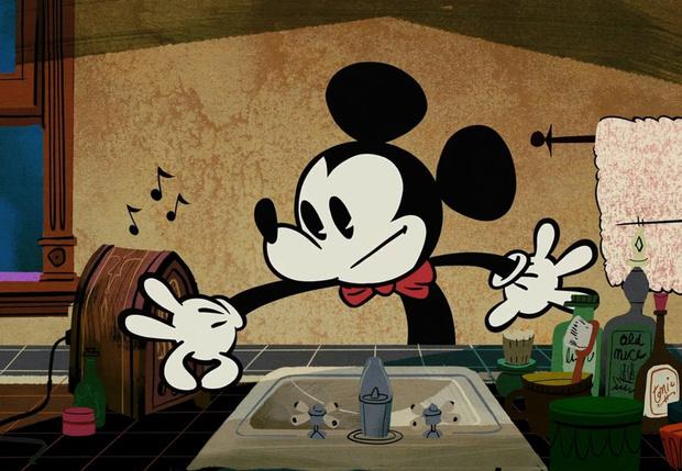Фото №1 - Почему Микки Маус всегда в перчатках?