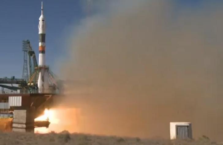 Фото №1 - «Союз-МС 10» с двумя космонавтами потерпел аварию при старте (видео)