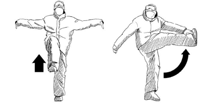 Фото №2 - Как правильно делать разминку лыжникам и сноубордистам