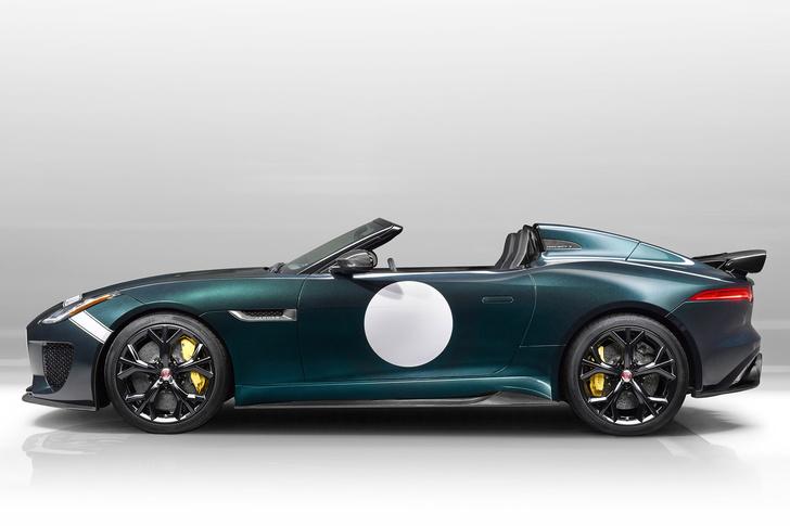 Фото №3 - Родстер Jaguar F-Type Project 7 — до первой сотни разгоняется всего за 3,9 секунды